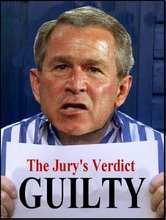Bush Trial Logo GUILTY-2