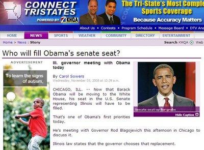 Obama blagojevich