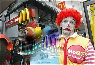Ronald-mcdonald-quits-in-prote
