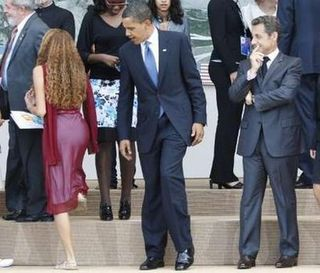 Obama looking at BUTT