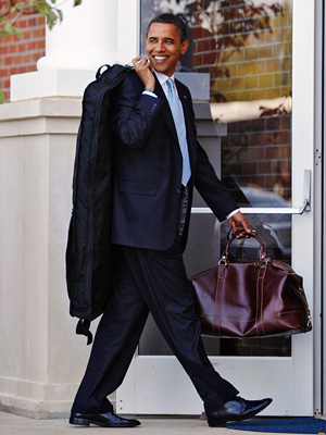 Obama looking Back